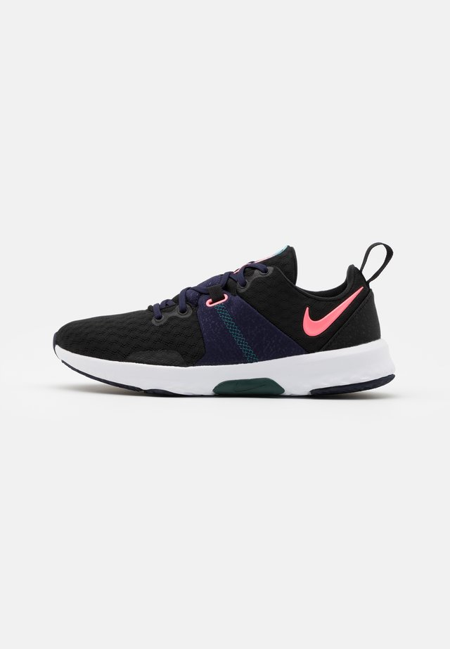 CITY TRAINER 3 - Sportschoenen - black/sunset pulse/blackened blue