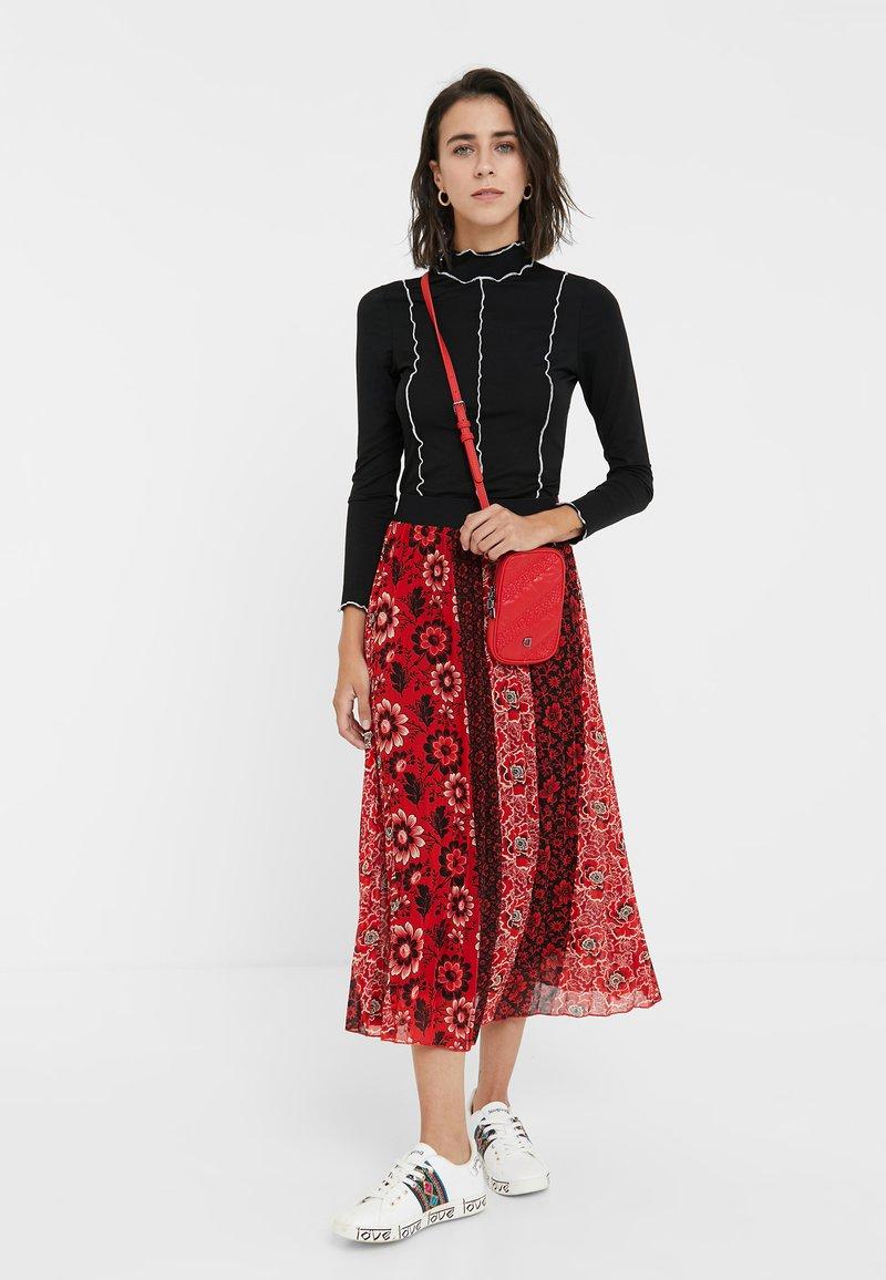 Desigual - SOFIA - Across body bag - red