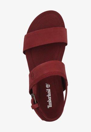 TIMBERLAND SANDALEN - Sandals - chocolate truffle 2111