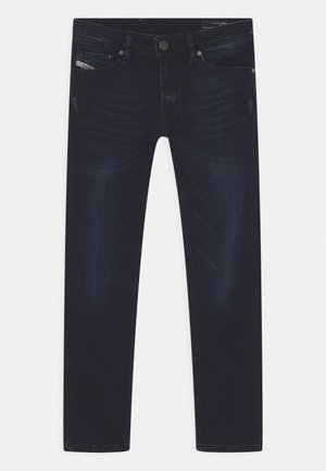 WAYKEE - Jeans Straight Leg - dark-blue denim