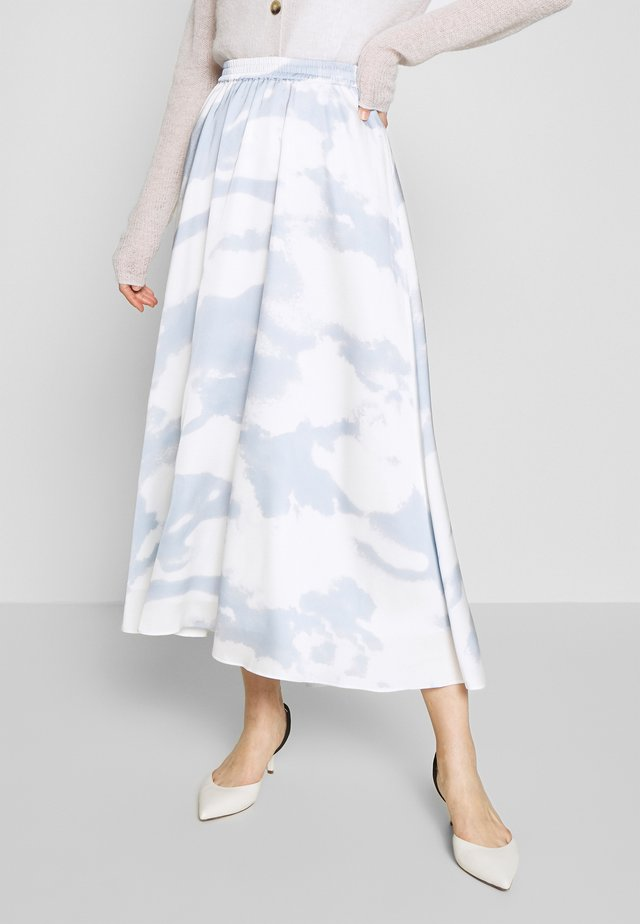 KACY MAXI SKIRT - Maksihame - light blue