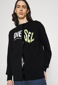 Diesel - BIAY SPLIT - Sweatshirt - black - 3