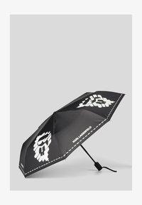 KARL LAGERFELD - Umbrella - black/ white - 0