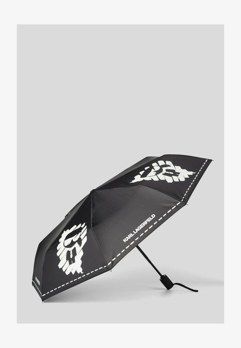 KARL LAGERFELD - Umbrella - black/ white