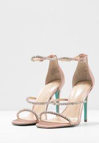 Blue by Betsey Johnson - ELISA - Sandaler med høye hæler - nude - 4