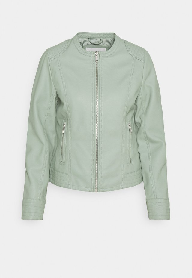 BYACOM JACKET - Giacca in similpelle - iceberg green