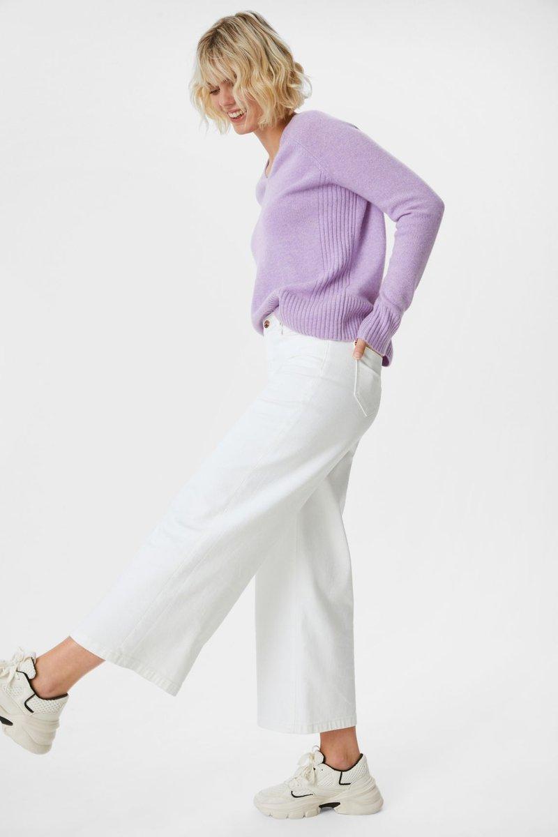 C&A - Sweter - light violet