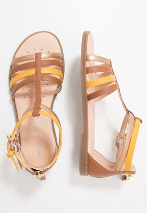 KARLY GIRL - Sandales - caramel
