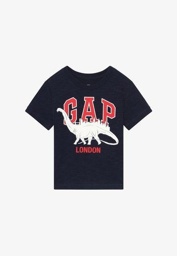 TODDLER BOY CITY TEE - Print T-shirt - navy