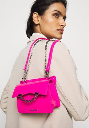 SEVEN MINI SHOULDERBAG - Across body bag - neon pink