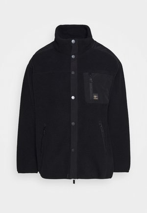 ABIGAIL RETRO - Fleecejacke - true black