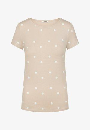 Print T-shirt - zementgrau