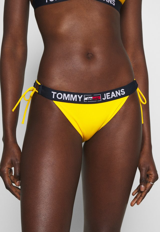 CHEEKY SIDE TIE - Bas de bikini - amber glow