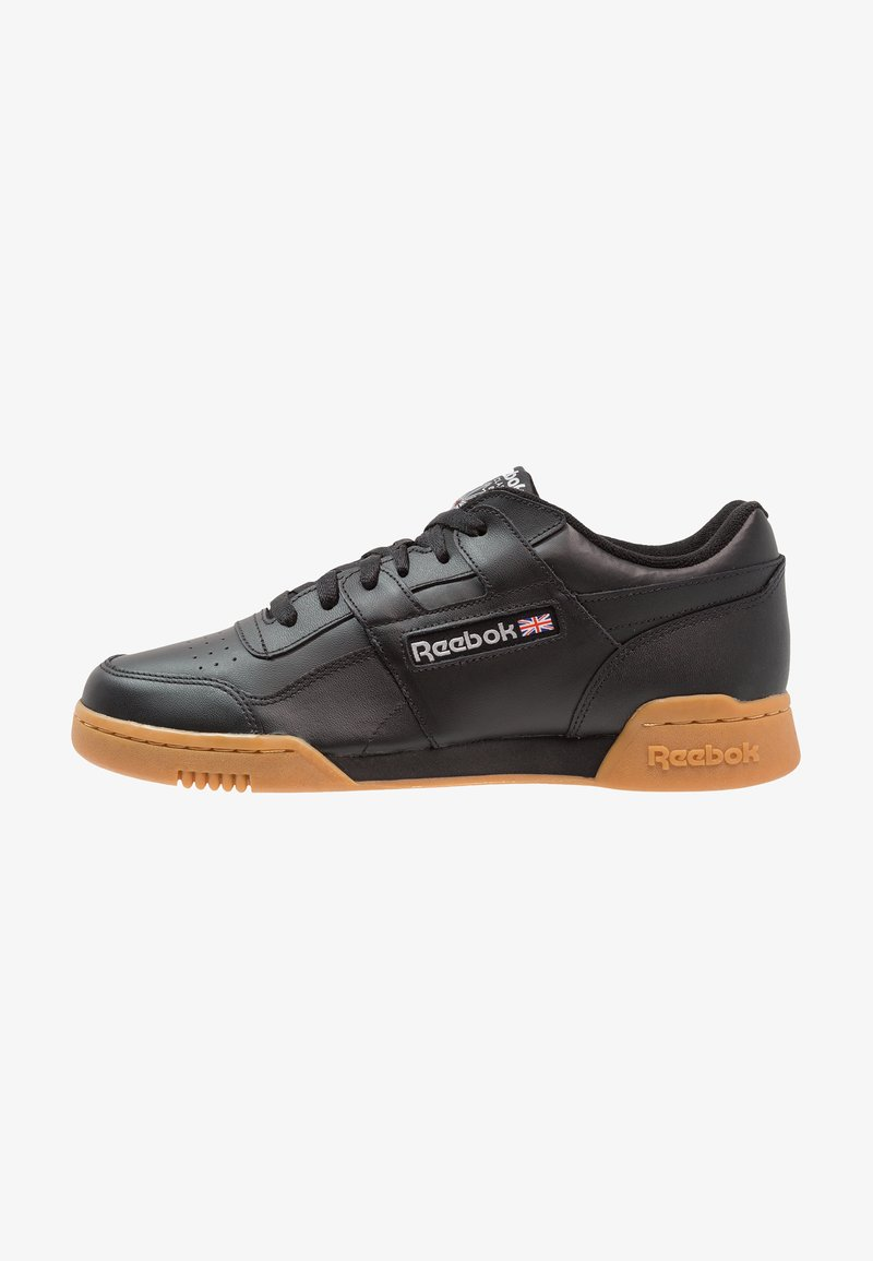 Reebok Classic - WORKOUT PLUS - Sneakers - black/carbon/red/royal
