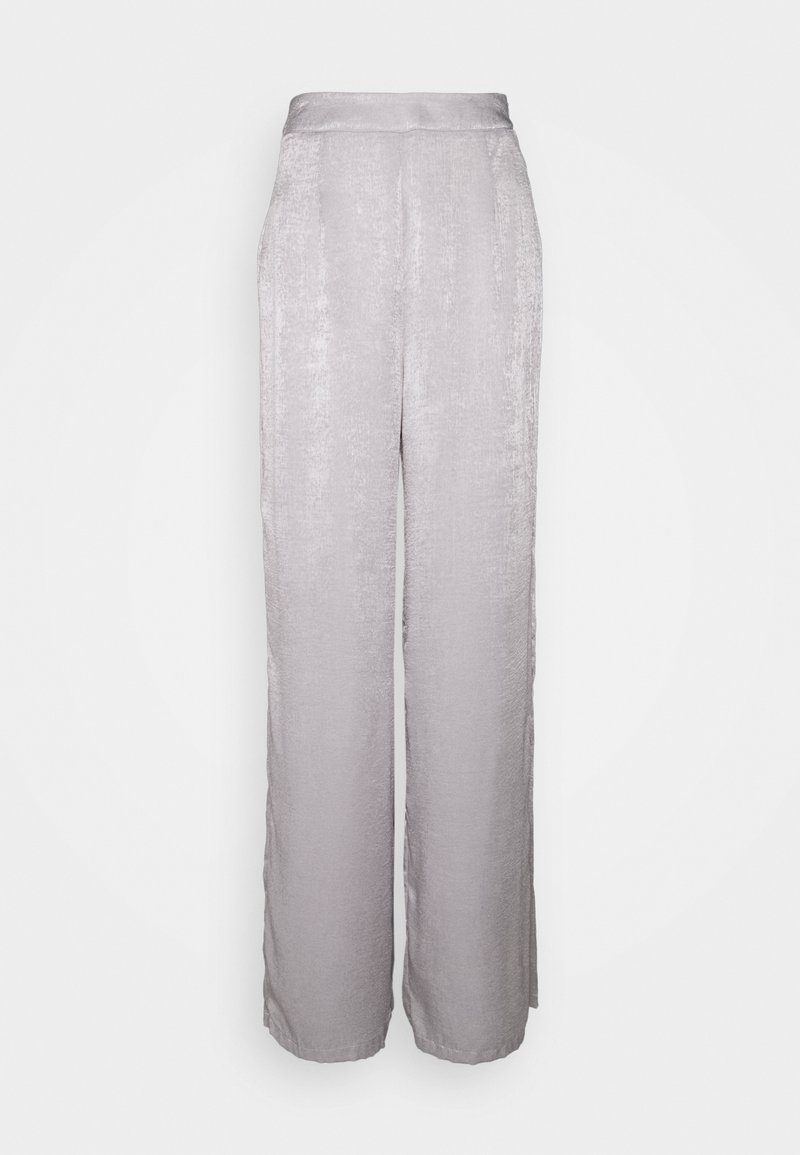 Little Mistress Tall - LITTLE MISTRESS TALL - Spodnie materiałowe - silver