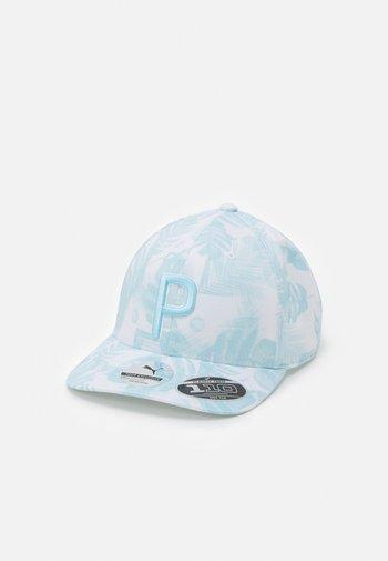 BEACH SNAPBACK - Keps - bright white/blue glow