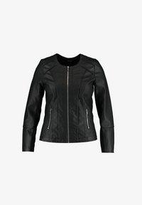 MS Mode - JACK  - Faux leather jacket - black - 0