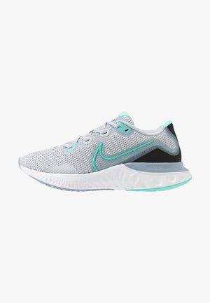 RENEW RUN - Neutral running shoes - sky grey/hyper turquoise/obsidian mist/white