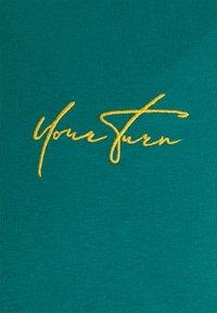 YOURTURN - UNISEX - Top sdlouhým rukávem - turquoise - 2