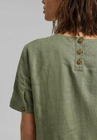 Esprit - DRESS - Day dress - light khaki - 3