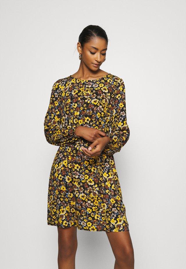 VIVELAFLORALI DRESS - Sukienka letnia - black