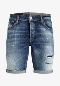 Jack & Jones - Denim shorts - blue denim - 0
