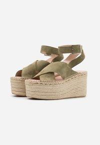 Zign - High Heel Sandalette - khaki - 2