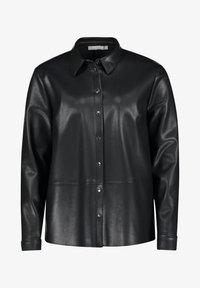 Betty & Co - Button-down blouse - zwart - 3