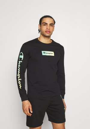 CREWNECK LONG SLEEVE  - T-shirt à manches longues - black