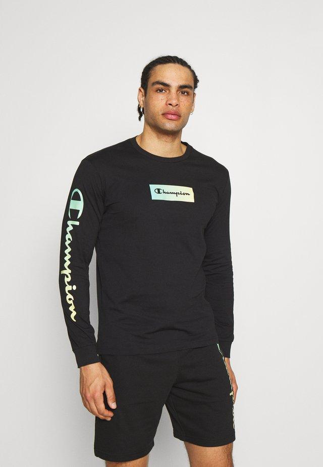 CREWNECK LONG SLEEVE  - T-shirt à manches longues - black
