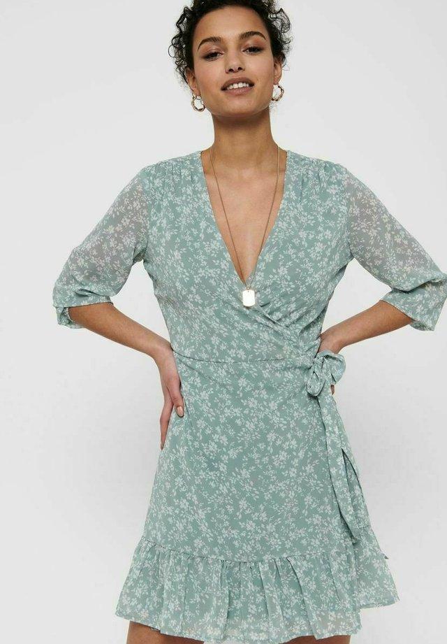 Korte jurk - slate
