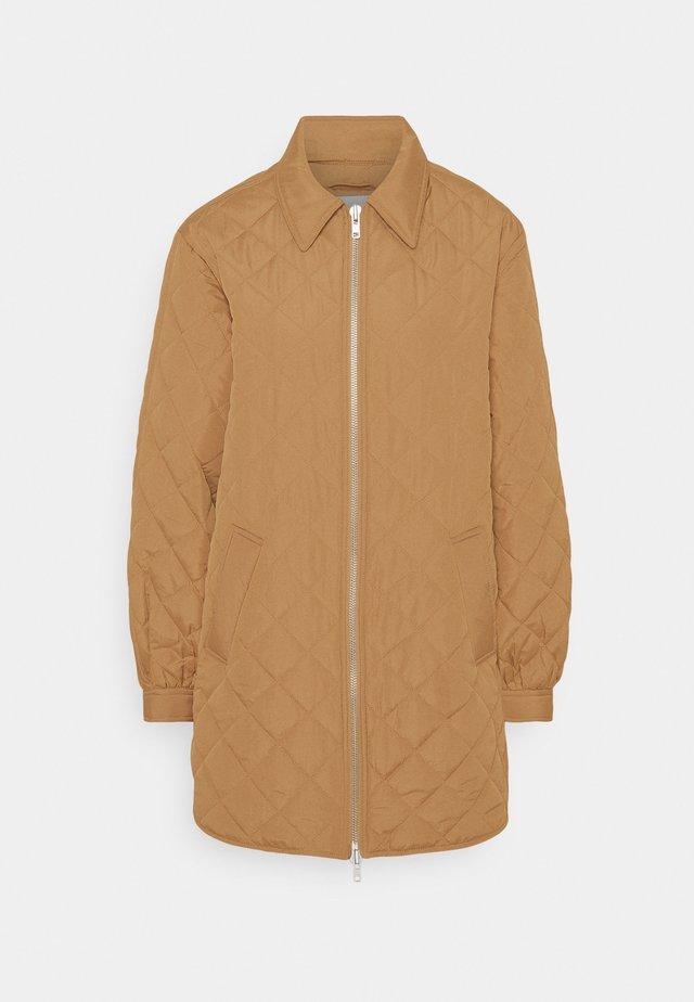 HEVA JACKET - Classic coat - camel