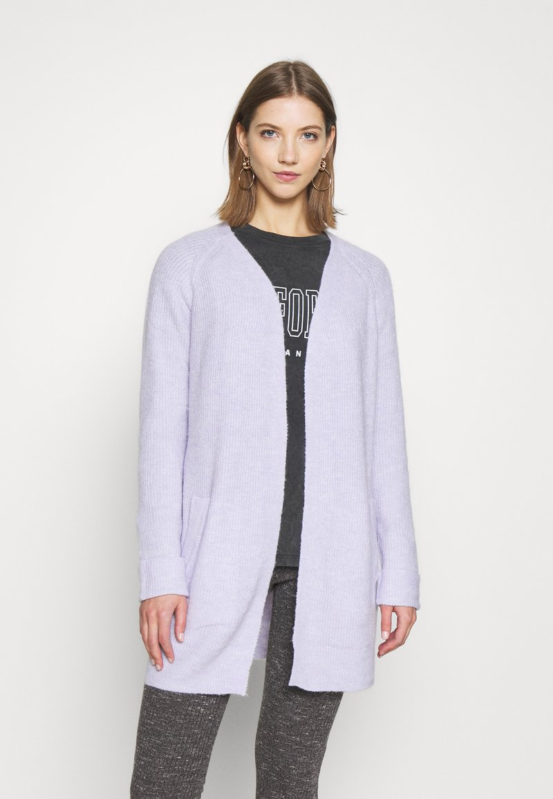 Pieces - PCELLEN  - Cardigan - purple heather
