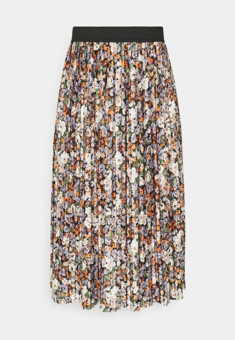 JDY - JDYBOA SKIRT - A-line skirt - black/purple