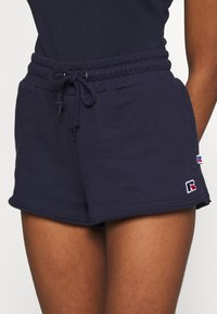 Russell Athletic Eagle R - WARRIORS - Shorts - navy - 4