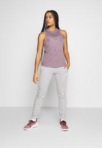 adidas Performance - KNIT SPORT CLIMALITE WORKOUT TANK TOP - Sports shirt - purple - 1