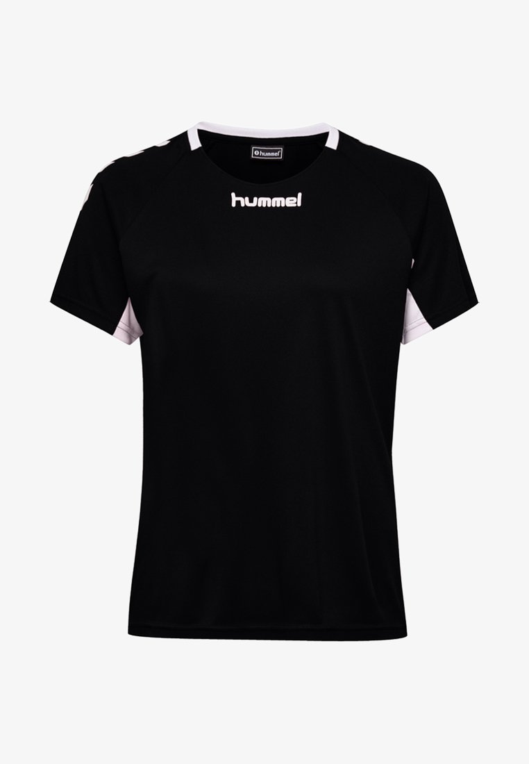 Hummel - CORE TEAM  - Print T-shirt - black