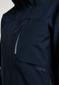 PYUA - Waterproof jacket - navy blue - 5