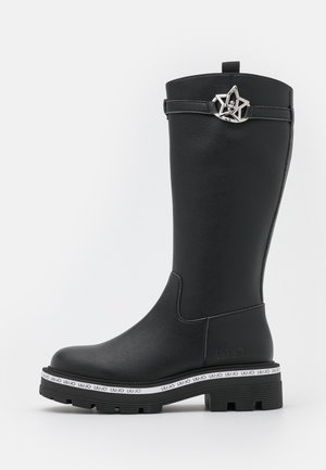 TAILOR BOOT - Platform boots - black
