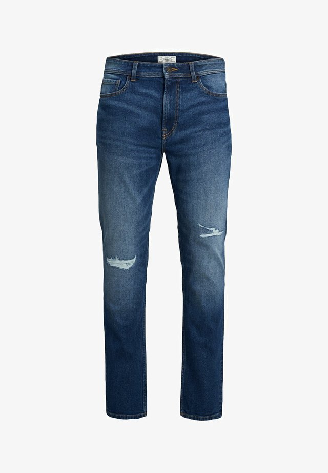 Jeans slim fit - medium blue denim