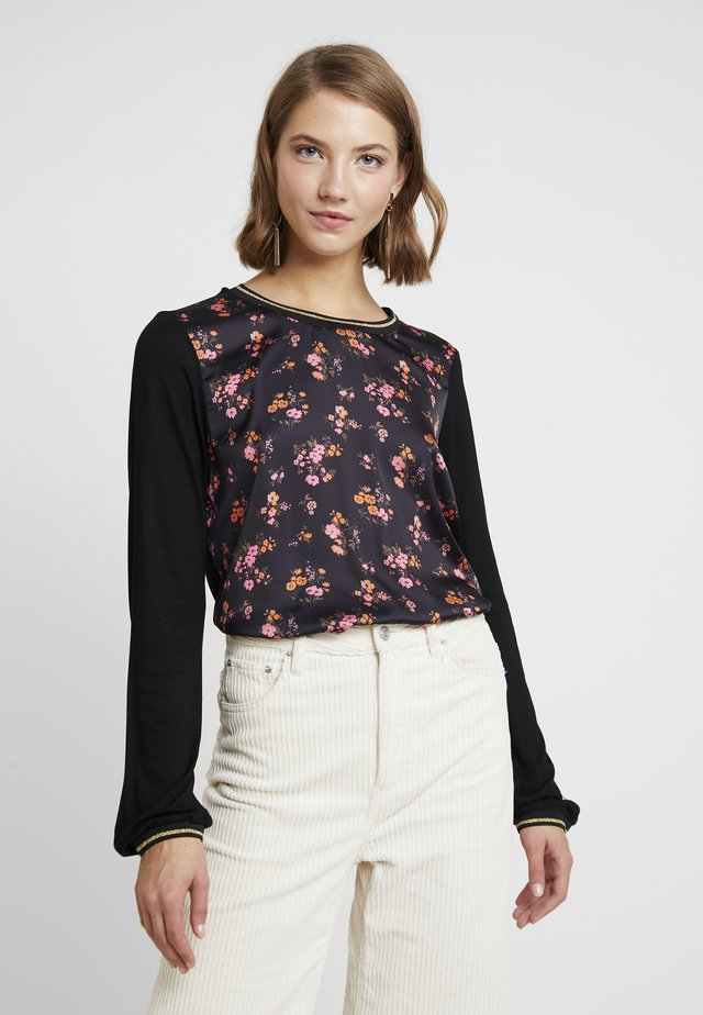 MALUCCA BLOUSE - Bluse - black