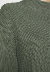 Even&Odd - CROPPED MOCK NECK - Jumper - green - 5