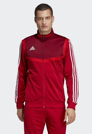 TIRO 19 POLYESTER TRACK TOP - Veste de survêtement - red