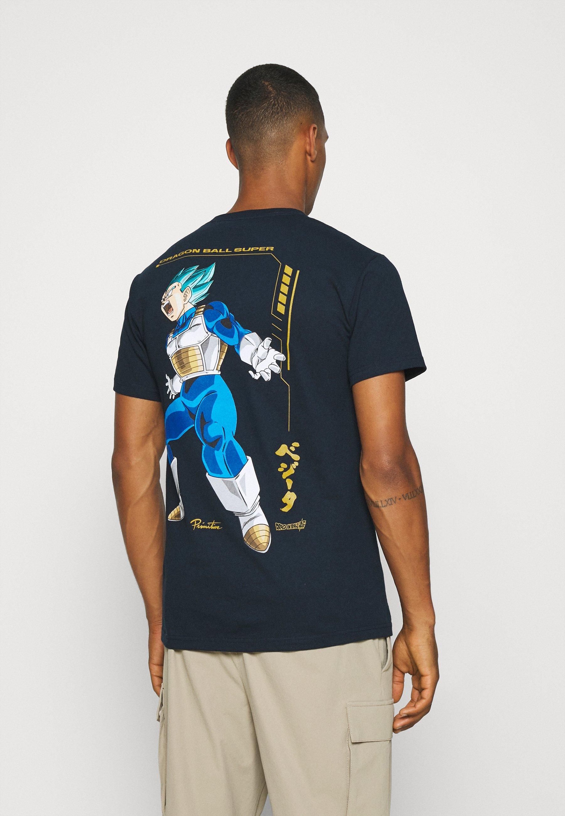 Men VEGETA RAGE TEE - Print T-shirt