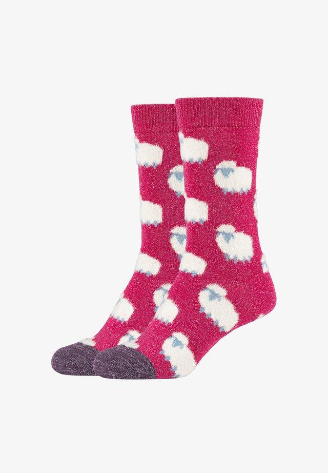 Socks - fuchsia