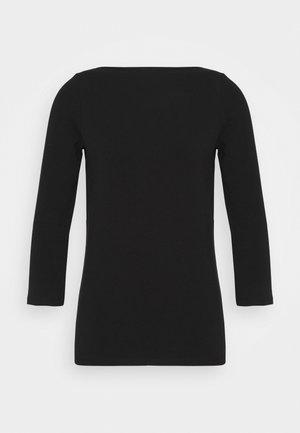 ONLLIVE LOVE 3/4 BOATNECK - Long sleeved top - black