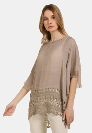 TOP - Tunic - taupe