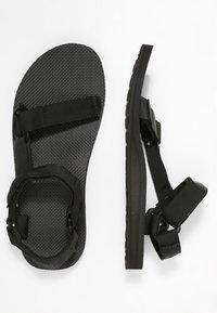 Teva - ORIGINAL UNIVERSAL URBAN - Chodecké sandály - black - 1