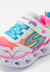 Skechers - HEART LIGHTS - Trainers - white/multicolor - 5