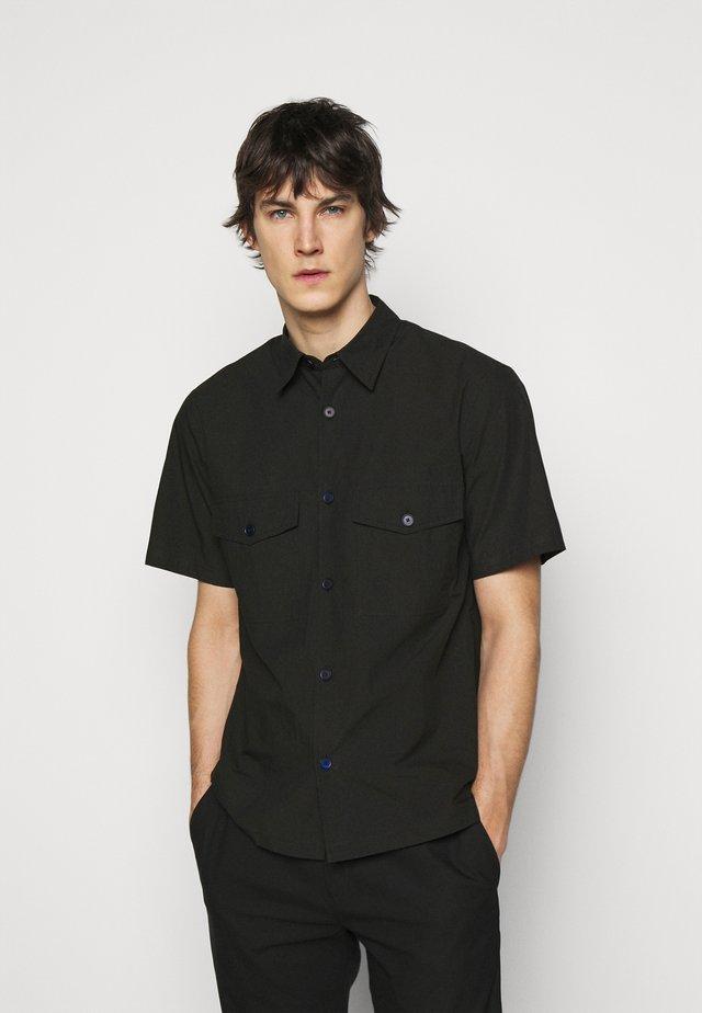 WELDON - Overhemd - black
